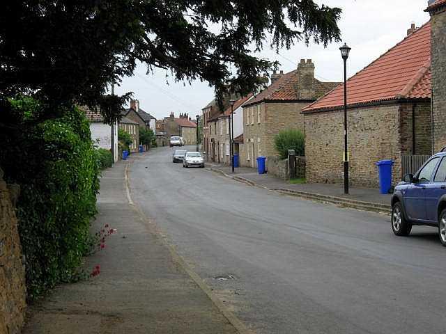 The Main Street of Hotham