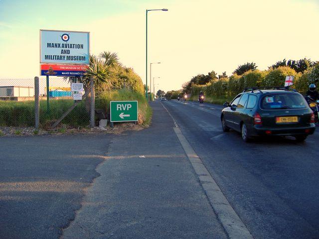 Douglas Road near Castletown, Isle of Man