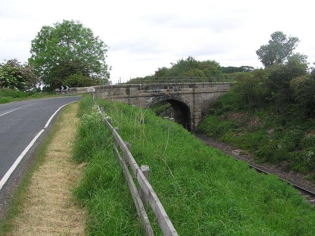 Railway Bridge : Mordon.