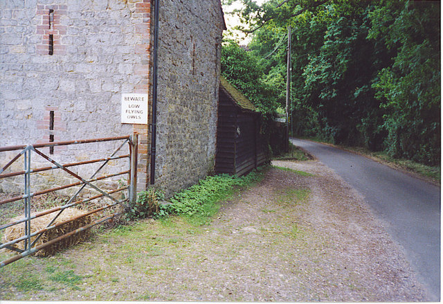 Lane Passing Westland Farm.
