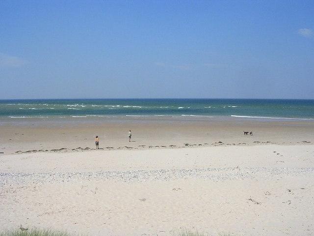 Beach at Findhorn