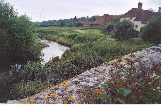 River Arun at Pallingham Quay Farm.