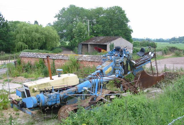 Monster machine Crichel Mill Dorset