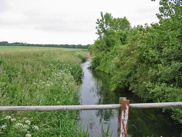 River Allen Chalbury Dorset