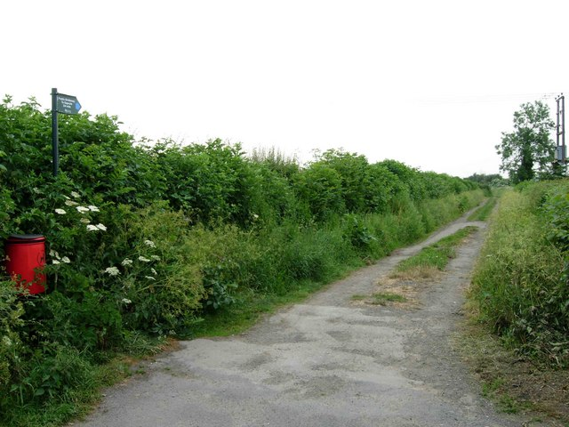 Bridleway at Sharnford