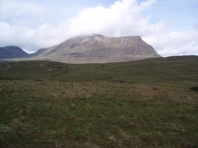 Sail Gharbh from bog near A894