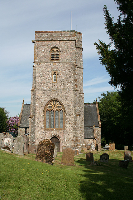 Luppitt: St Mary�s church