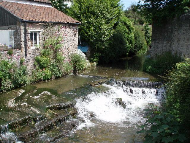 River Sheppey in Croscombe