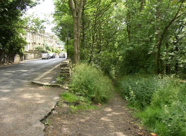 Top of Coal Pit Lane, Salford, Almondbury