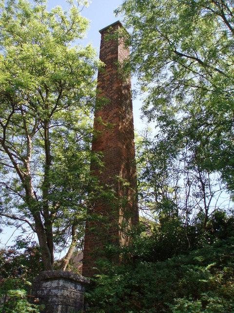 Wool mill chimney: Croscombe