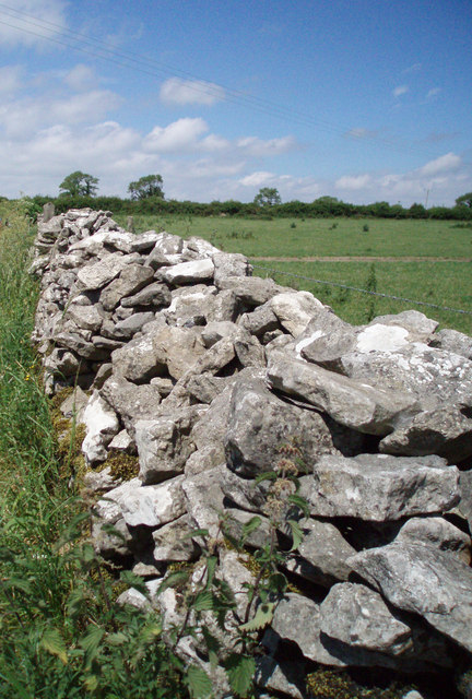 Drystone wall on the Mendips