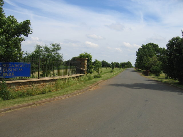 Entrance to Sugarswell Business Park