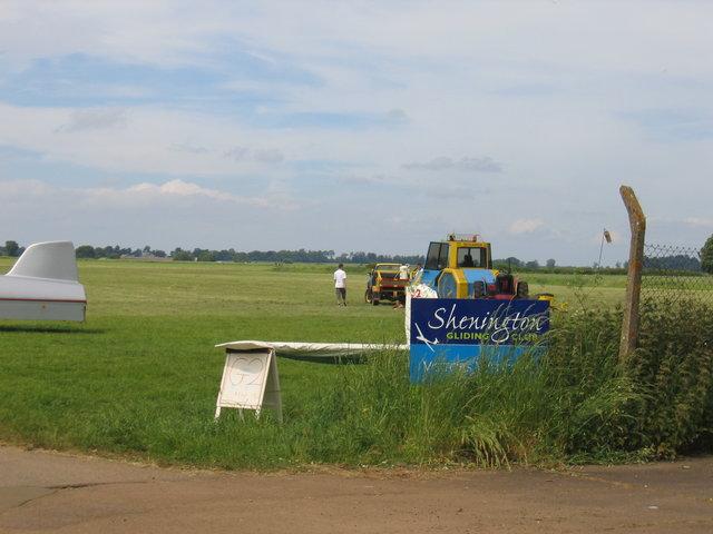 Shenington Gliding Club winch