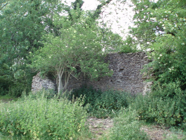 Ruined building: West Horrington