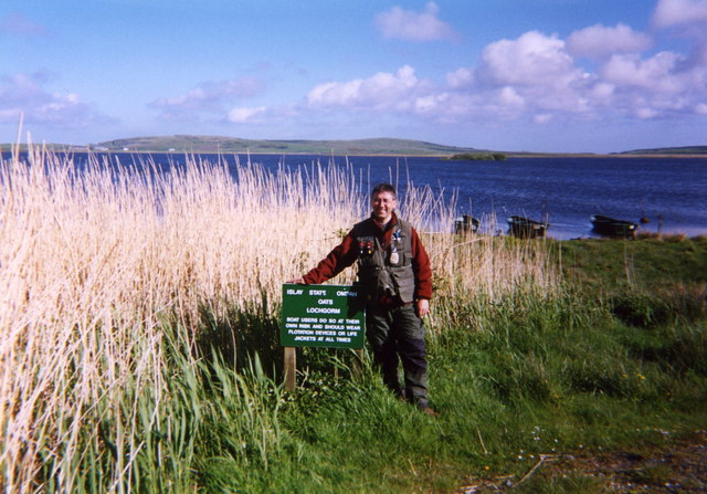 Going Fishing on Loch Gorm Islay