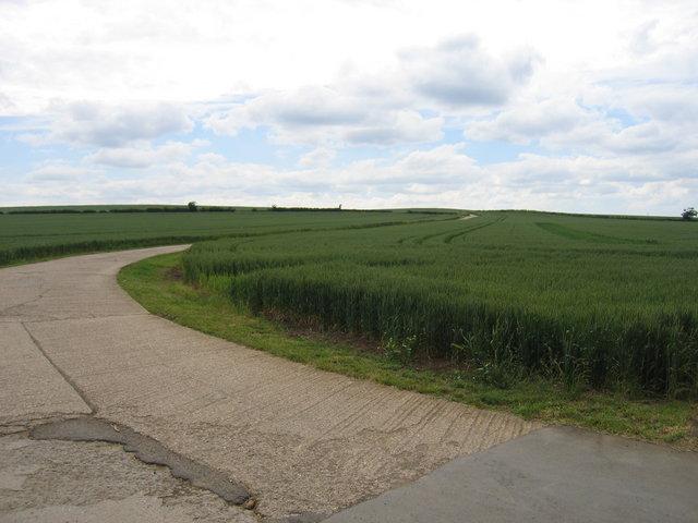 Kirkby Farm driveway