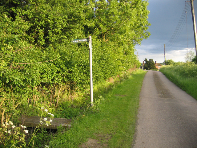 Footpath to Wilstead from Houghton Conquest, Beds