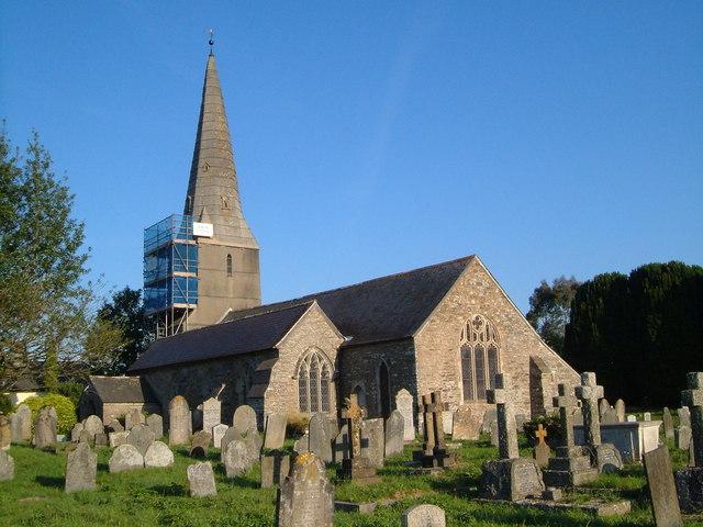 St Mary's church, Diptford
