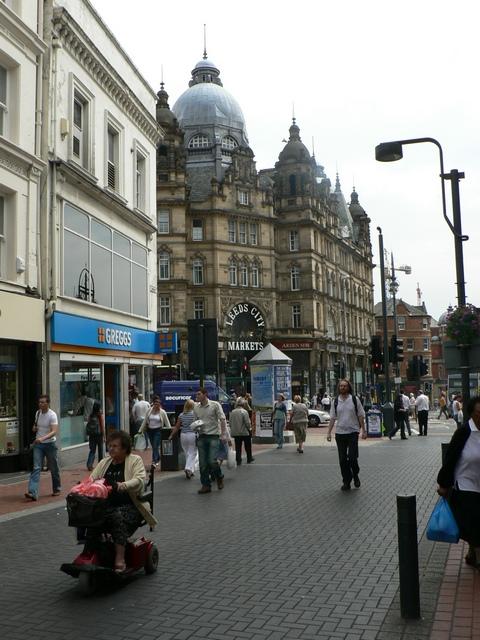 Kirkgate and Vicar Lane, Leeds