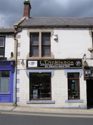 L Dickinson, Hexham