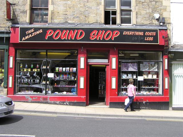 Pound Shop, Hexham