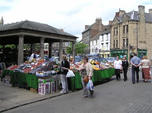 Street traders, Hexham