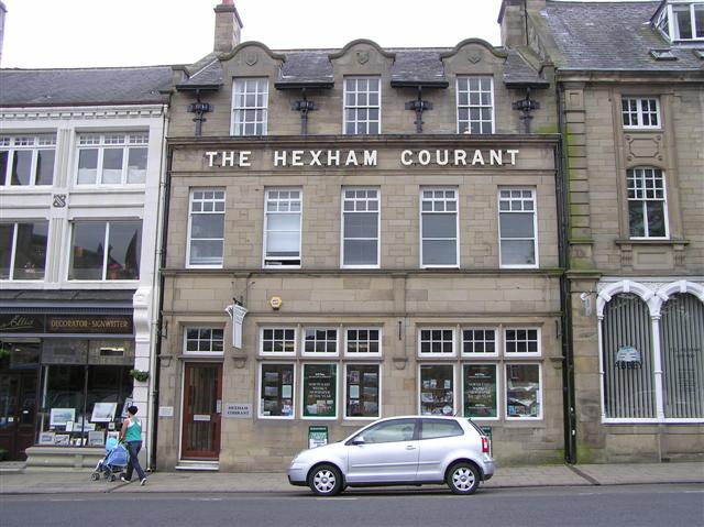 The Hexham Courant Newspaper