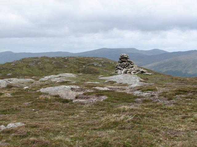 Meall nam Maigheach summit