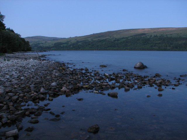 Loch Tay by night