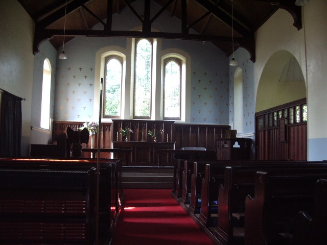 Interior of Newton Arlosh Church
