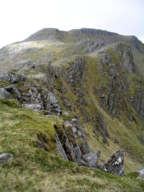 Summit ridge, Sgurr a' Mhaoraich