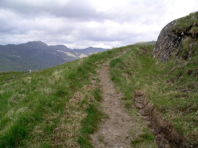 Stalkers path, Bac nan Canaichean