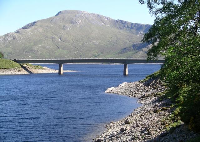 Bridge, Loch Quoich.