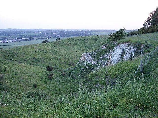 Lenham Chalk Quarry SSSI