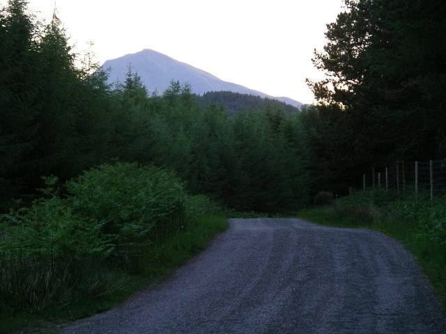 Evening light, near Tomdoun