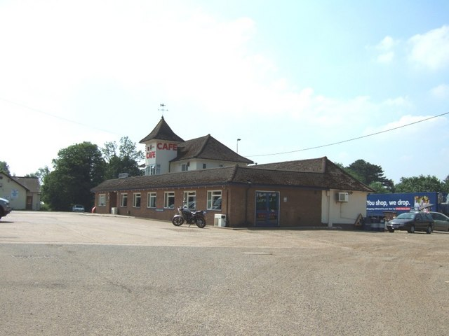 A5 Café near Towcester
