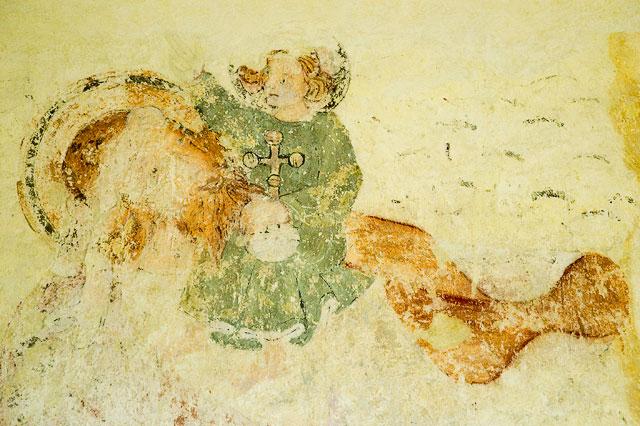 Whitcombe Church Painting