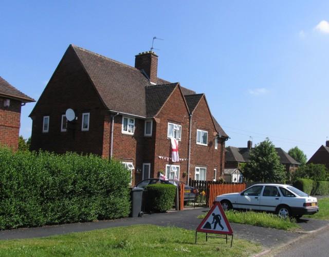 Houses on Shelthorpe Road
