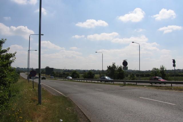 A6 towards Leicester