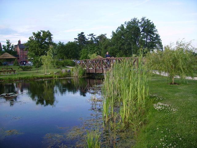 Ornamental Pond, Pulford