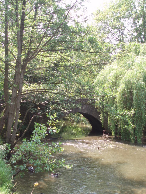 Bridge over the river Chew