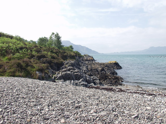 West end of Ardintigh Bay