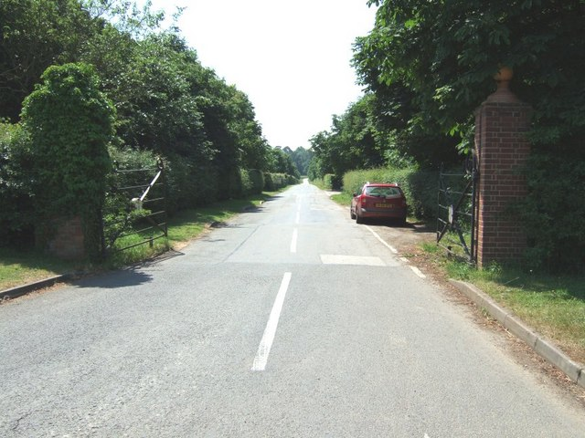 The road to Addington