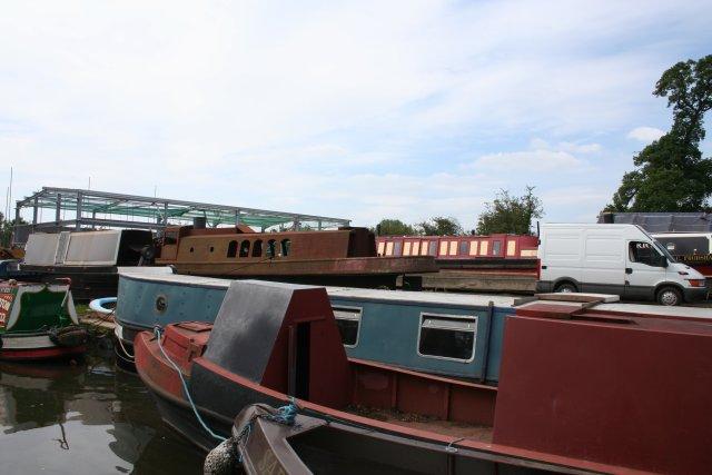 Boatyard, Stretton Wharf, Shropshire Union