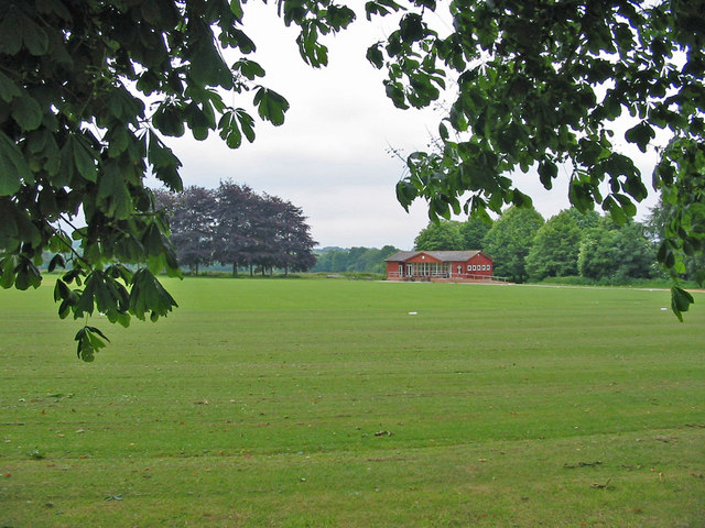 Sports ground Witchampton Dorset