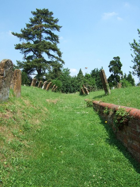 Old pathway to church