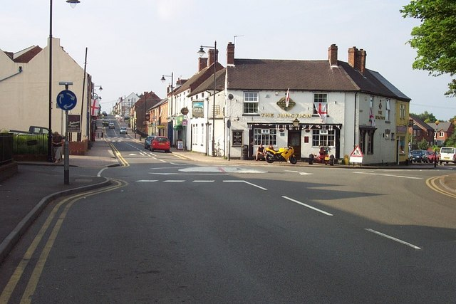 The Junction and Chasetown High Street