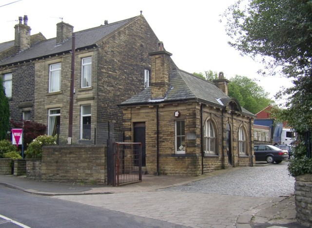 Factory office, St Giles Road, Hipperholme