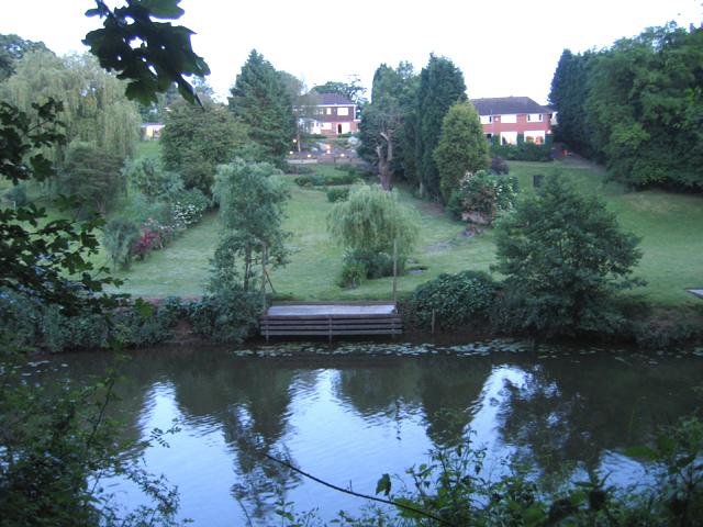 Across the Medway, East Farleigh, Kent
