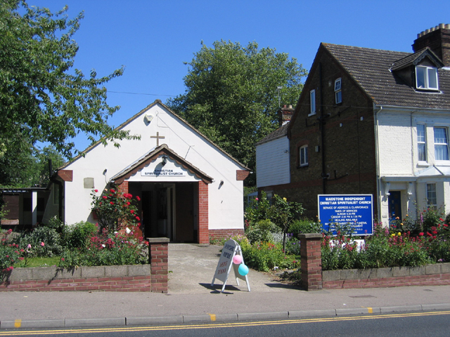 Christian Spiritualist Church, Maidstone, Kent
